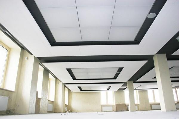 Акустические панели для потолков Ecophon 2