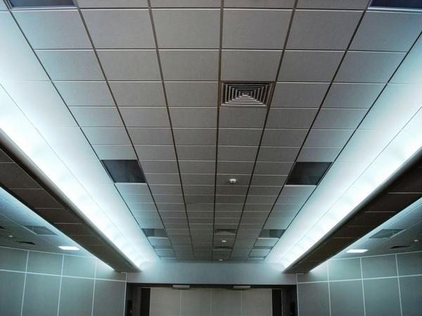 Акустические панели для потолков Ecophon 4