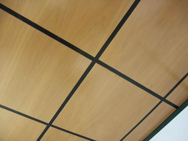 купить шпонированные панели для потолка 2