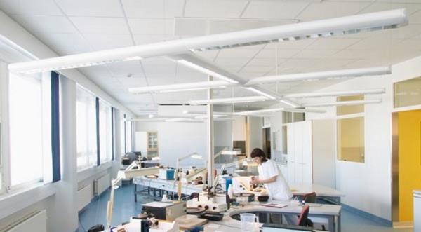Прямолинейные акустические потолки Focus A XL (1800х600)