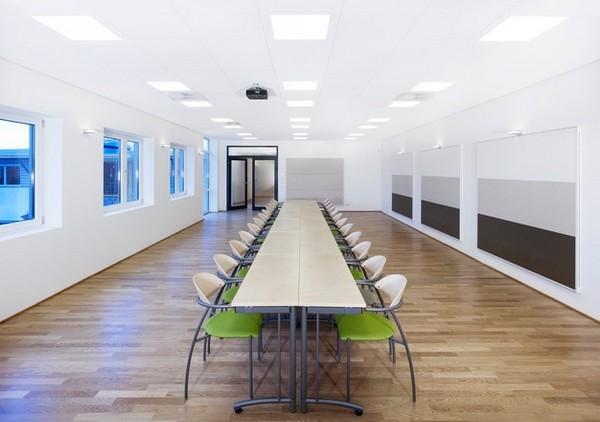 Акустические панели Ecophon Focus Ds (1200x600) белого цвета