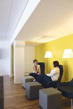 Акустические потолки Ecophon Focus Fixiform (300+1200)