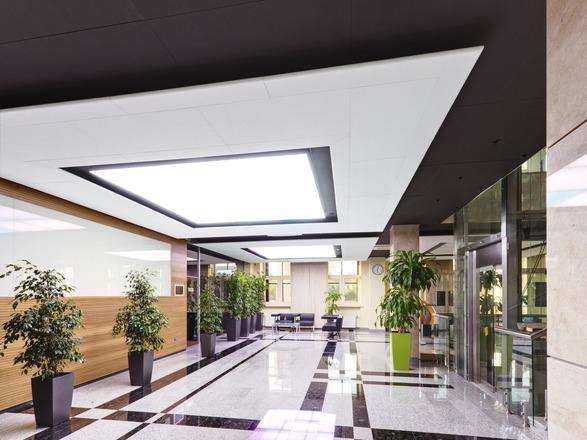 Потолочные панели Ecophon Focus Wing Ds